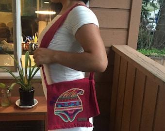 Bag embroidered Peru