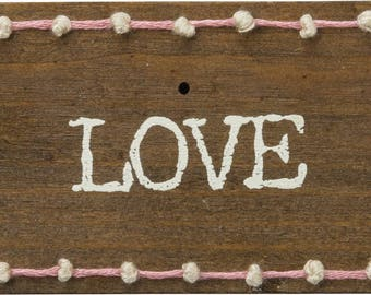 Love Stitched Block/Magnet