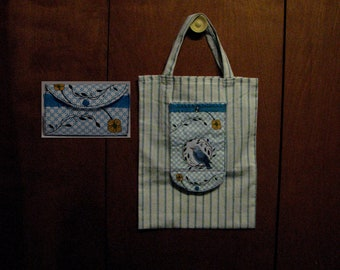 Shopping Tote Wallet