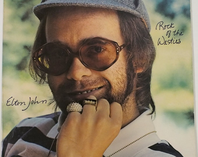 "Featured listing image: Elton John - ""Rock of the Westies"" vinyl"
