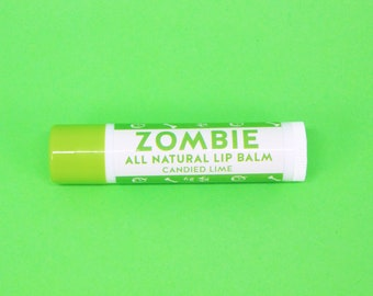 Zombie All Natural Lip Balm - Candied Lime Flavour