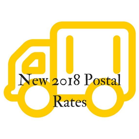 New 2018 Postal Rates