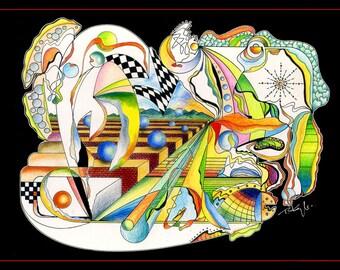 Psychodelic Landscape