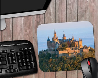 Medieval Castle Scenic Novelty Computer Mousepad - A Great Gift For Yourself, Friend, Family, or coworker.  Free Shipping.