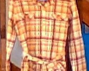 Vintage 1970's Pendleton Tunic with Belt