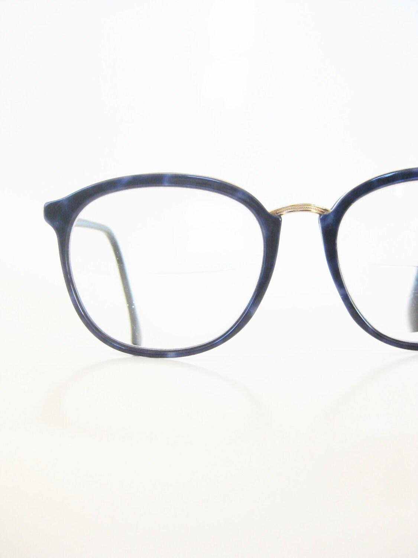 Jahrgang L\'Amy Brille Retro Französisch Gläser Saphir