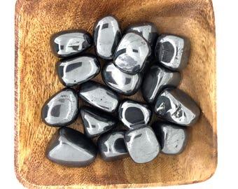 Hematite Tumbled - Tumbled Hematite - Grounding - Root Chakra - Base Chakra - First Chakra - Energy Healing - Protection - Reiki