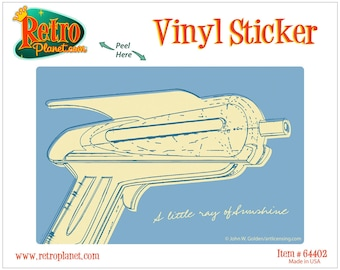 Raygun of Sunshine Lunastrella Vinyl Sticker - #64402