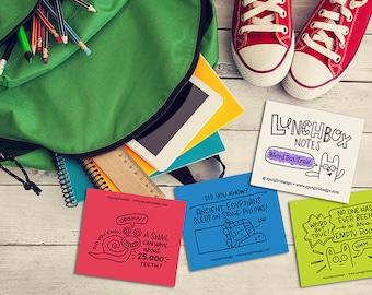 Weird But True Lunchbox Notes (Set of 24)