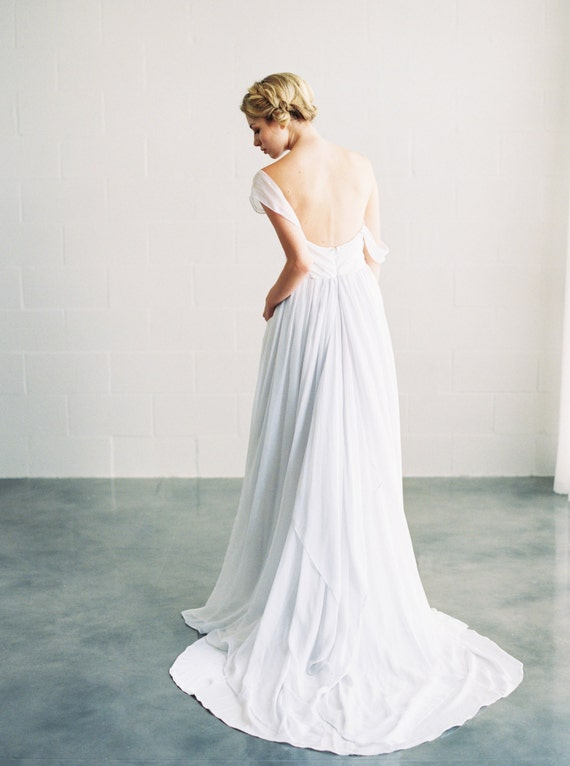 Ivy Dress / / silk chiffon Brautkleid