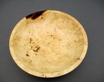 Birdseye maple bowl # 536