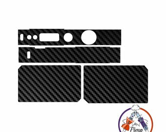 Skin Decal Wrap for Voopoo Drag 157 Carbon Black