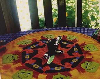 Witch Placemat Pattern