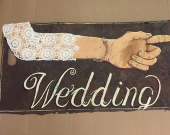 Antique advertising sign antique signs wedding sign rustic wedding decor custom wedding sign bridal shower sign metal wedding sign handmade