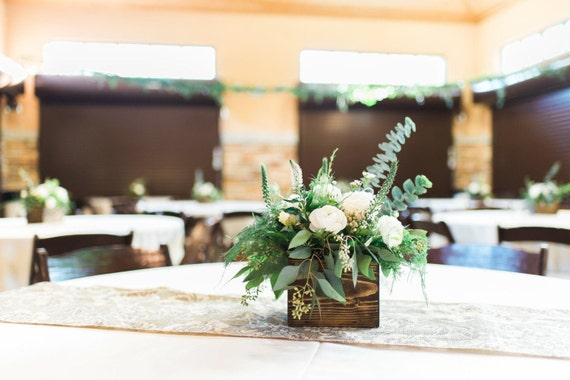 Wood centerpiece wedding centerpiece rustic wedding decor like this item junglespirit Image collections