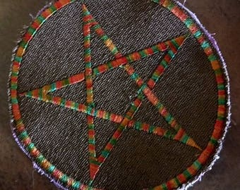 Mabon Pentacle Patch