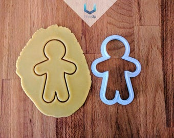 Gingy Cookie Cutter | Exclusive Dough stamps