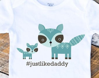 Father's Day Onesie,  Just Like Daddy Onesies®, Baby Boy Onesie, Daddy and Son Shirt, New Dad, Baby Boy Clothes, Onesie, Baby Singlet, Daddy