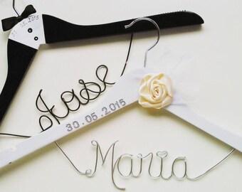 Custon Hanger Wedding,Bride,Groom ;Custon hanger couple ,Bridal Hanger