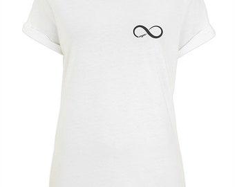 Vegan Forever - Rolled Sleeve T Shirt