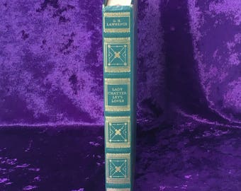 Lady Chatterly's Lover by D.H. Lawrence ∙ International Collectors Library ∙ Vintage Banned Books ∙ Classic Fiction ∙ Decorative Books ∙Prop