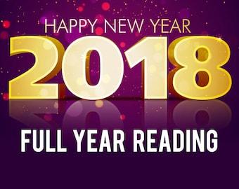 2018 New Year in-depth Tarot Reading / Spiritual Guidance