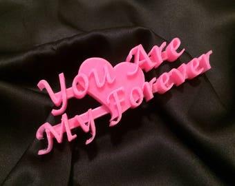 My Forever Valentine Wall Art   Valentines Gift
