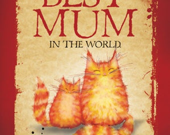 Mother's Day or Mother birthday card: Best Mum