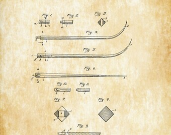 Surgical Needle Patent Print
