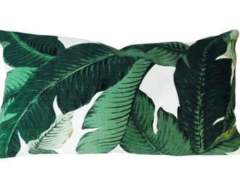 Tommy Bahama Palm Tree Throw Pillow Cover - Decorative Pillow - Both Sides - 12x16, 12x20, 14x18, 14x24, 16x16, 18x18, 20x20, 22x22