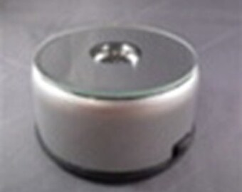 Lighted rotating base