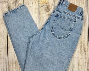 Vtg 80s Lee Jeans High Waisted Mom Jeans