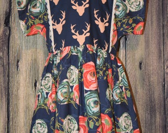 Woodland Dress, Size 7