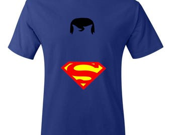 Minimalist Superman Shirt- Superman Shirt- DC Shirt- Comic Shirt- Superhero Shirt