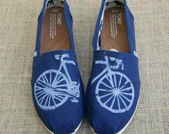 Custom Bike TOMS Shoes
