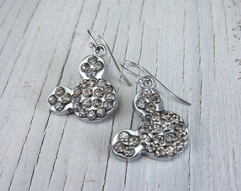 RHINESTONE MICKEY Earrings