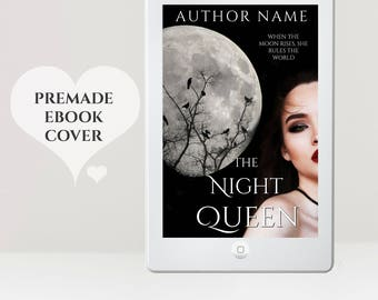 Fantasy eBook Cover - Paranormal eBook Cover - Premade eBook Cover - eBook Design - Supernatural eBook Cover - Night eBook Cover - Kindle