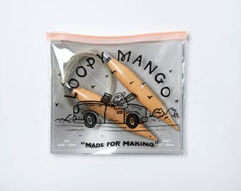 Loopy Mango Size 50 (25mm) Circular Knitting Needles