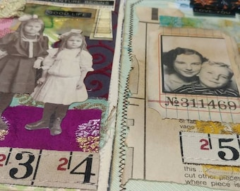 Vintage Altered Tags