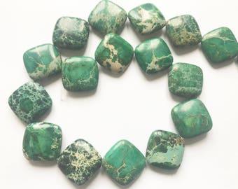 "16""  Beautiful Smooth Finish Jasper Beads Strand"