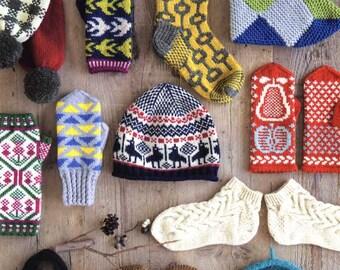 SCANDINAVIAN Taste Shizukudo Knitting Time - Japanese Craft Book