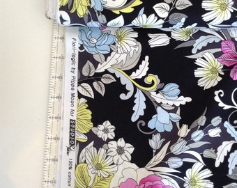 Flori-Logic floral Fabric by the Yard-Studio E Fabrics