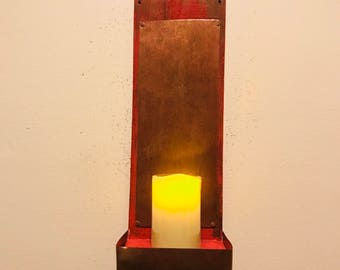 Primitive Wall Sconce