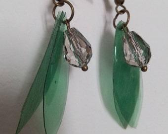 The little green fairy earrings