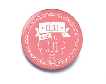 Sup for bachelorette party kit 38 mm badge Yes