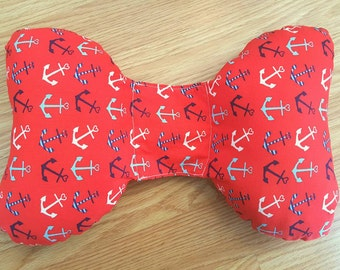 Anchor Infant Head Support - Torticollis - Positional Plagiocephaly - Elephant Ear Pillow - Car Seat Head Support - Unique Baby Shower Gift