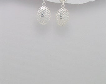 Silver Filagree earrings