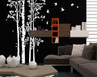 "01396 ""Lights of the woods"" Wall Stickers Decoration trees"