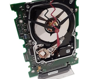 Laptop Hard Drive on a Circuit Board Clock, Unique Clock. Geek Gift, Gifts for Him, Corporate Award, Company Gift. Got Graduation Gift?