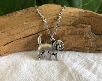 Beagle Dog Necklace - Dog Breed Jewelry - Gift for Dog Lover